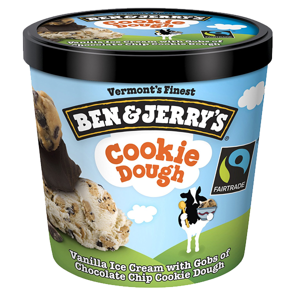 Eight Point Distributors Hawaii - Ben and Jerry's - Cookie Dough