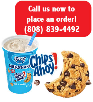 Call us now to place an order! (808) 839-4492