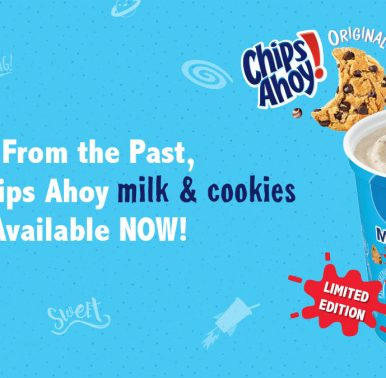 F'real Chips Ahoy Milk and Cookies Available Now!